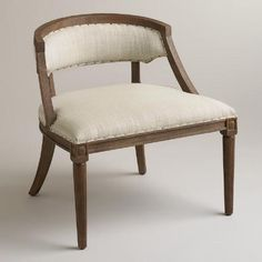 One of my favorite discoveries at WorldMarket.com: Natural Herald Chair