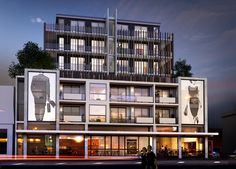 A new residential development in Collingwood will combine artwork into the building's facade.