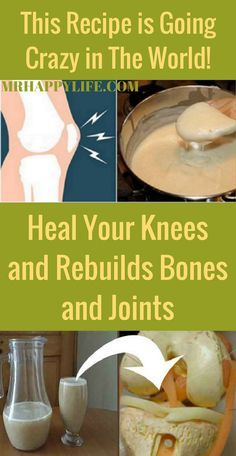 As we get older, our body gets weaker and many illnesses related with age start to appear like joint pain and bones pain and it is the one condition that is most common to appear. We have an amazing natural remedy and this is how to prepare it in order to treat the pain in the joints, bones and knees.