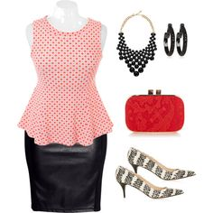 Not sure about the polka dots but otherwise super cute!