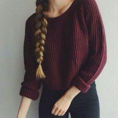 Fashionable long sleeve knit sweater OAP20VD