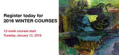 Vancouver Island School of Art Courses and Workshops, Victoria, BC