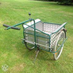 Remorque vélo avec frein à main