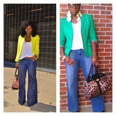 the whole look duplicated for under from the thrift store Thrift Store Fashion, Thrift Store Outfits, Chic Fashionista, Women's Fashion, Fashion Outfits, Bell Bottom Jeans, Thrifting, Mom, My Style