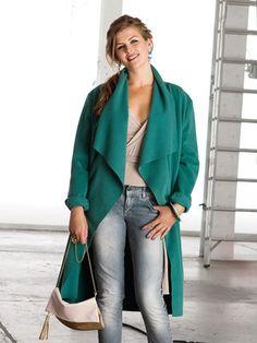 Schnittmuster: Mantel - ohne Verschlüsse - Jacken und Mäntel - Damen - burda style 127-012013-DL