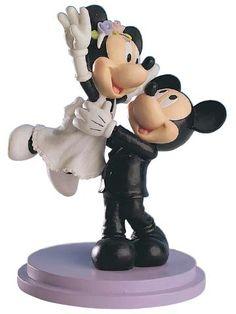 minnie mickey disney doll wedding disney cake toppersdisney