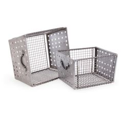 Found it at Joss & Main - 2 Piece Industrial Wire Bins Set