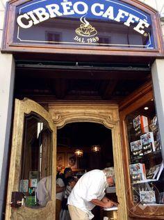 Cibreo caffè in Florence is the cafè of the famous Italian chef Fabio Picchi
