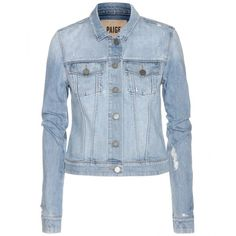 Paige Vermont Denim Jacket found on Polyvore