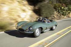 "The original Jaguar XKSS is among the most coveted of all automobiles. Now the people who purchased Jaguar's new classic ""continuation"" XKSS roadsters look set to double their money simply by taking delivery. Lamborghini, Ferrari, Classic Sports Cars, Classic Cars, New Jaguar, Jaguar Xk, Jaguar Cars, Jaguar Type, My Dream Car"