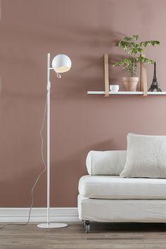 Ball from Markslöjd Floating Nightstand, Shelves, Flooring, Lights, Furniture, Inspiration, Home Decor, Warm, Pink