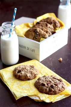 My Big Fat Pecan And Sultana Cookie. #baking #breakfast #cookies #healthy