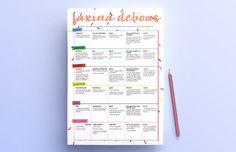 Faxina deboísta: um planejamento pra te ajudar a manter a casa em ordem!
