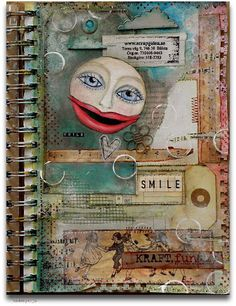 Mija's art journal. I don't have words for this level of awesome. @Christina Childress Childress Colón