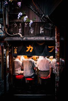 Restaurant in Shinjuku, Tokyo, Japan