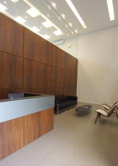 Recepção sede da Rokrisa Engenharia em Curitiba - PR