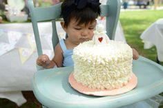 Vintage Alice in Wonderland First Birthday   CatchMyParty.com