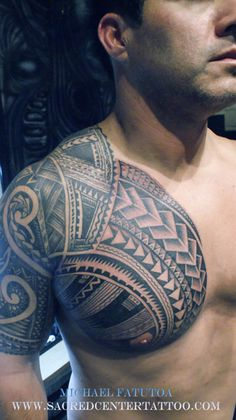"Maori tattooo ""Like the chest portion"""
