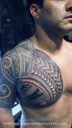 "Maori tattooo ""Like the chest portion"""