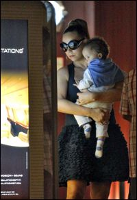 Mommy Mariah and her Son Moroccan