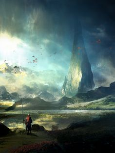 Dreamscape. The Lone Spire