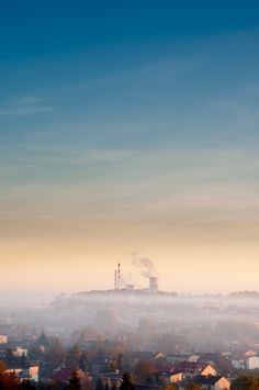 Morning Fog at sunrise