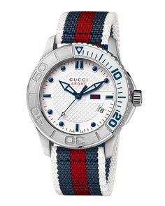 XL Sport Watch, Blue/Red/Blue