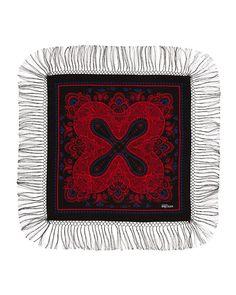 Pirate Fringe Wool Scarf