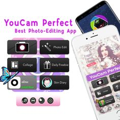 """Superb app ever, called """"YouCam Perfect"""" is the best camera application that you can find in internet.in web there are some benefits and tips for  editing selfies using our application.We invite you to download YouCam Perfect and try it yourself.You can edit your selfies with the beauty tool.From changing skin tone to shaping your face & the body , YouCam Perfect provides all the advanced tools you need.  Download today: https://www.downloadyoucamperfect.com/"""