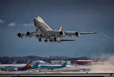Cargolux Boeing 747-8F LX-VCB by Angelo Bufalino.