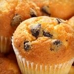 If you're in phase 2 of Atkins, try these   Mini Chocolate Chip Muffins. Less than 2g net carbs each!