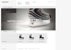 Bauer - Live The Game by Andy Gugel, via Behance