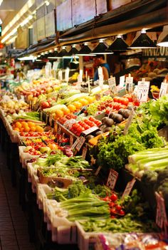 Pike Place Market | You'll always find amazing fresh products there
