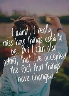 I admit.