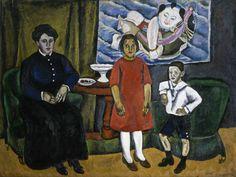 Ritratto di famiglia con stampa cinese, #Končalovskij From Glob-Arts