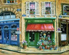 Choose your favorite paris street scene paintings from millions of available designs. All paris street scene paintings ship within 48 hours and include a money-back guarantee. French Street, French Cafe, Paris Cafe, Paris Street, Canvas Art, Canvas Prints, Art Prints, Paintings For Sale, Original Paintings