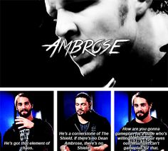 Dean Ambrose explained by other members of the shield