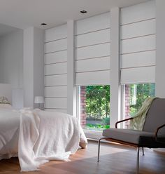 Save $139* on average on Luxaflex Roman Shades. All Luxaflex Roman Shade designs can be paired with an extensive fabric range, from room darkening, translucent, sheer and selected sunscreens.