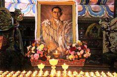 rouw voor de koning van Thailand.