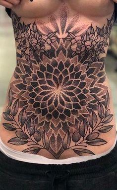 As 90 Melhores Tatuagens na Barriga [Masculinas e Femininas] Dope Tattoos, Tattoos Masculinas, Tattoo Femeninos, Belly Tattoos, Tattoos Skull, Badass Tattoos, Tribal Tattoos, Body Art Tattoos, Girl Tattoos