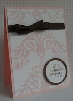"""Tutton's Treasures Stamping and Scrapbooking: August Stamp of the Month """"Baroque Borders"""" Blog Hop"""