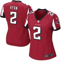Womens Nike Atlanta Falcons Matt Ryan Game Team Color Jersey #2  US$39.99  ID:3055
