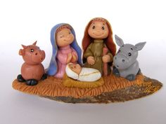 Presepe in pasta di mais, by Forever AB, 12,00 € su misshobby.com