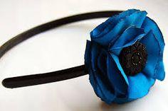 Resultado de imagem para headband flowers craft