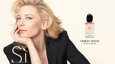 Cate for Armani Si