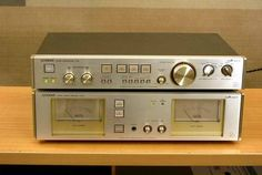 Luxman M-02 and C-02 power and pre-amplifier for sale € 850,00 05-10-2013