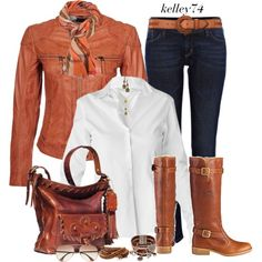 """""""Leather Jackets for Fall"""" by kelley74 on Polyvore"""
