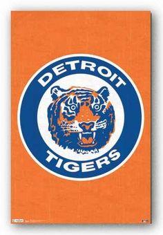(22x34) Detroit Tigers Retro Logo Sports Poster Print Wall Posters http://www.amazon.com/dp/B005CRW2YI/ref=cm_sw_r_pi_dp_3Pzavb1V7JT3Z