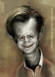 William H Macy Caricature    Jason Seiler is an award winning artist, specializing in portraits and humorous illustration.    Here are some of Jason's famous Clients TIME magazine, The New York Times, GOLF magazine, Guitar Player, The Weekly Standard, Business Week, MAD magazine and Revolver, among many others.