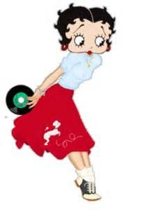 Betty Boop.....,let's dance.